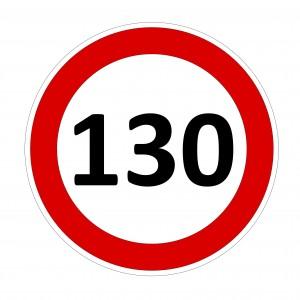sebessegkorlat 130