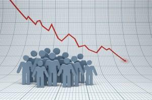 csökkenő népesség