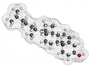 koleszterin molekula