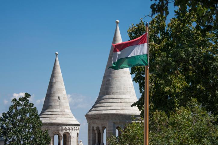 Halaszbastya magyar zaszlo