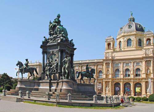 Mária névnap - Mária Terézia emlékmű Bécs