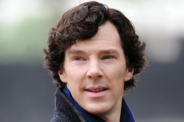 "Martin Freeman & Benedict Cumberbatch Film ""Sherlock"""