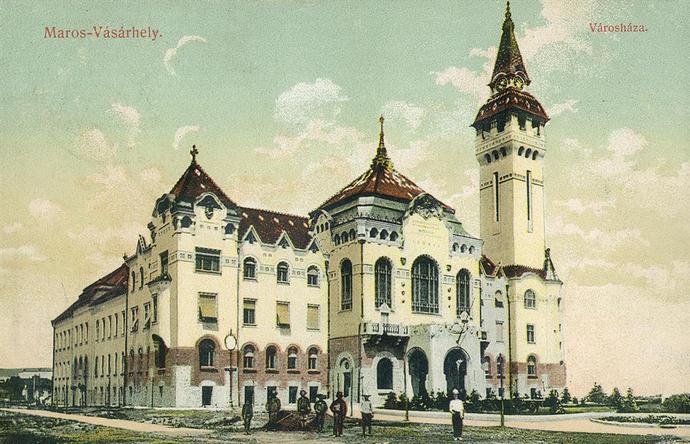 marosvasarhely-városháza