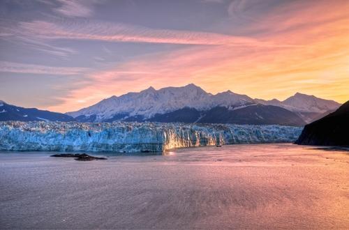 Hubbard gleccser Alaska