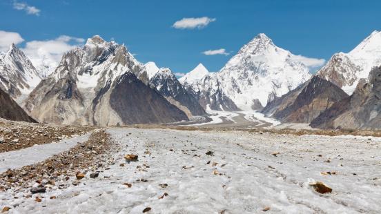 Erhard névnap - K2 és Baltoro gleccser