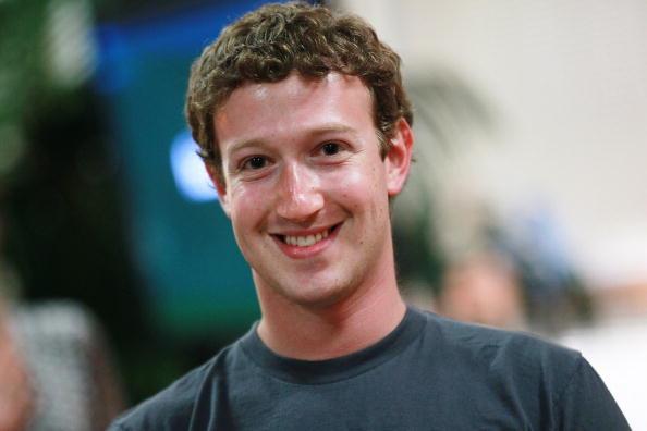 Márk névnap - Mark Zuckerberg