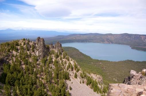 Paulina tó - Oregon USA