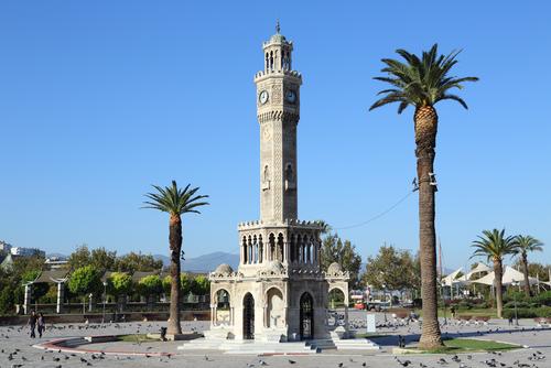 Polikárp névnap - Izmir óratorony