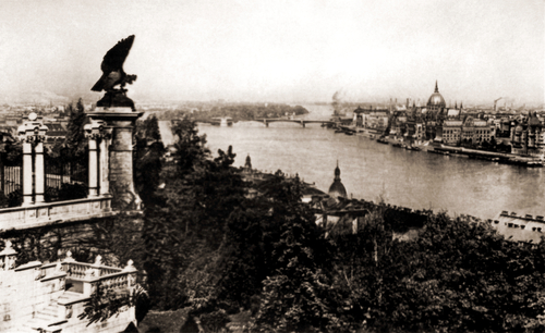 Manci híd - Margit híd a felrobbantás előtt