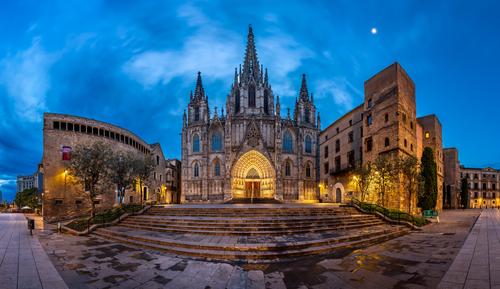 Eulália névnap - Szent Eulalia katedrális, Barcelona