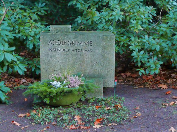 Adolf névnap - Adolf Grimme