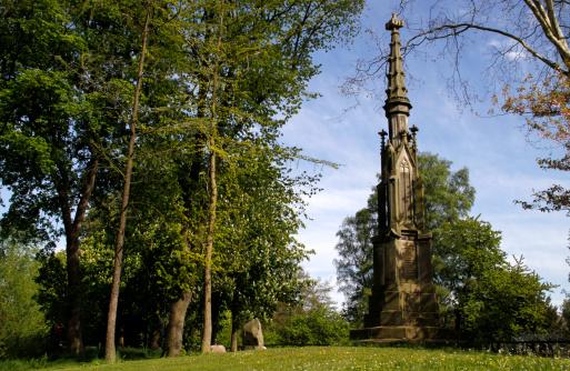 Engelbert névnap - Engelbert Kaempfer emlékműve Lemgóban