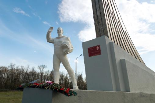 Gagarin emlékműve