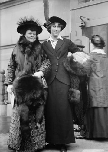 Inez névnap - Inez Milholland és Alva Vanderbilt