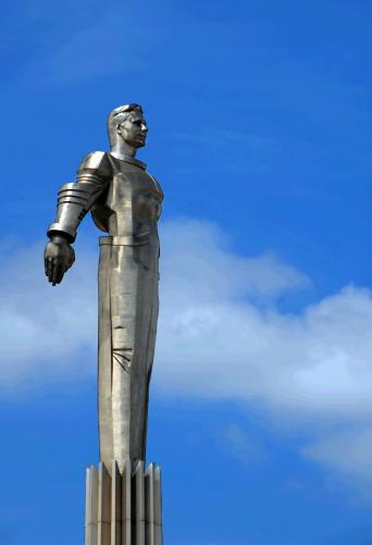 Gagarin emlékműve Moszkvában