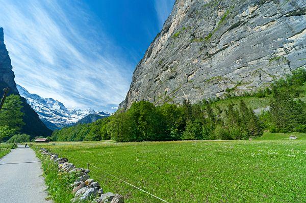 Lauterbrunnen Nemzeti Park Svájc