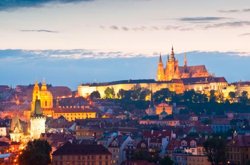 Szent Vitus székesegyház Prága