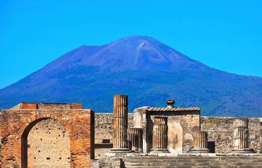Vezúv Pompei