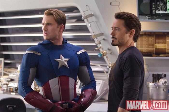 Amerika Kapitány és Tony Stark