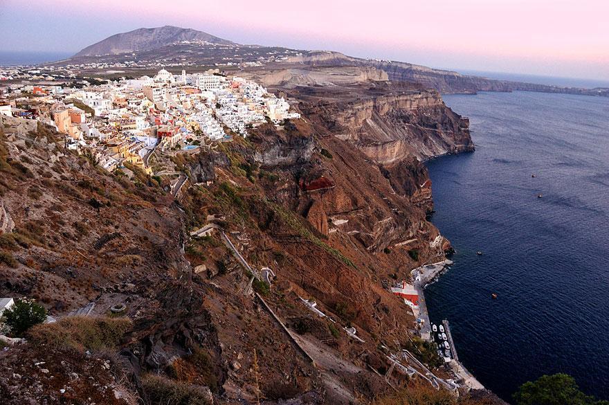 Santorini másik oldala