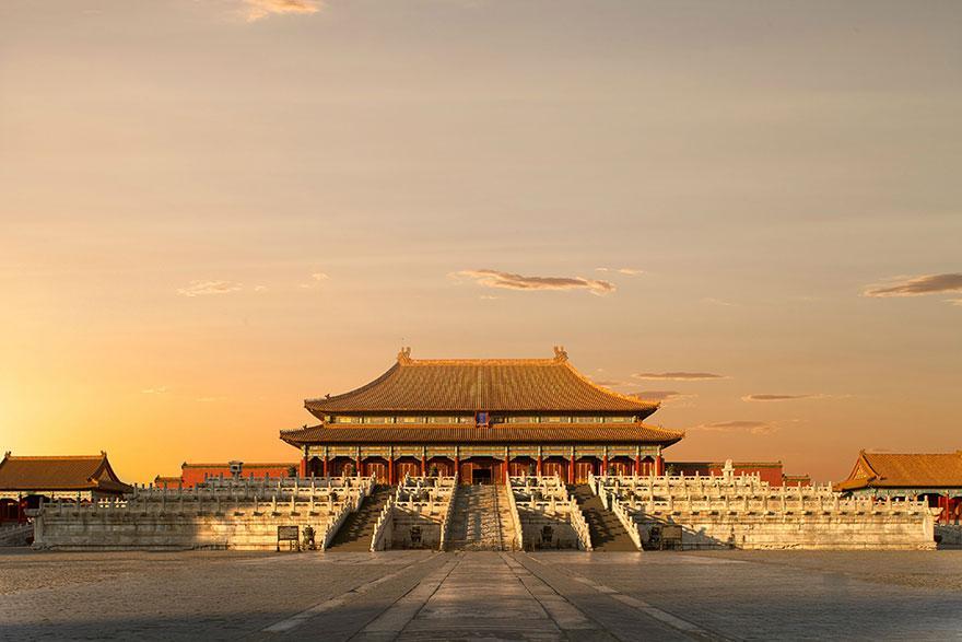 Tiltott város, Peking