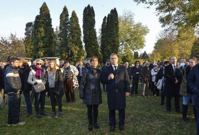 Orbán Viktor miniszterelnök  és felesége, Lévai Anikó;MTI Fotó: Illyés Tibor