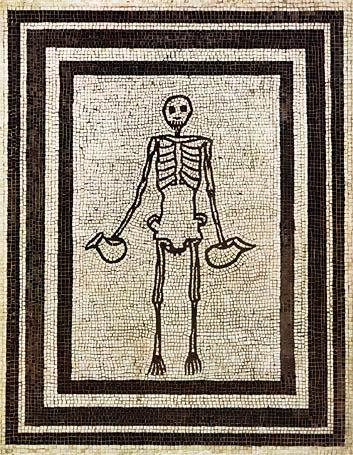 Pompeii-csontvaz