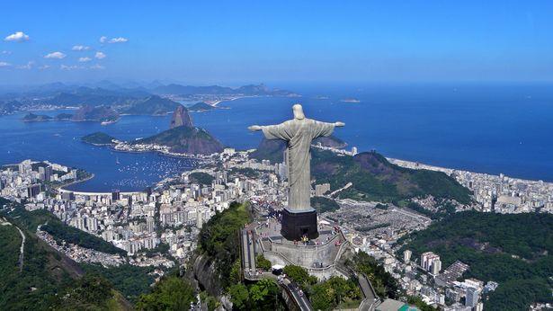A Megváltó Krisztus szobra Brazília-1