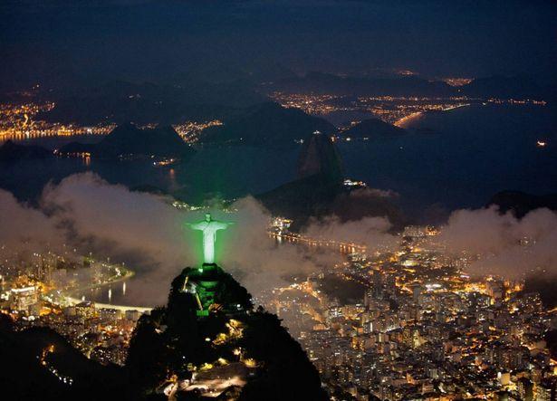 A Megváltó Krisztus szobra Brazília-2