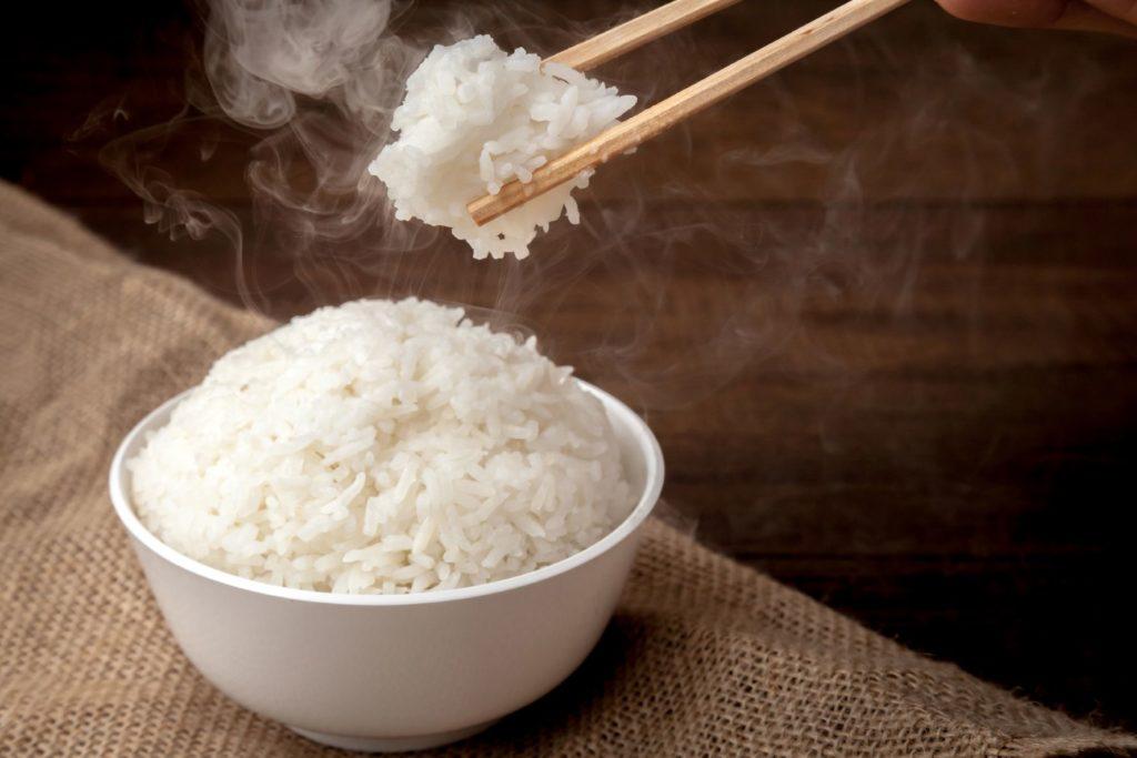 Főtt rizs fagyasztása, tárolása